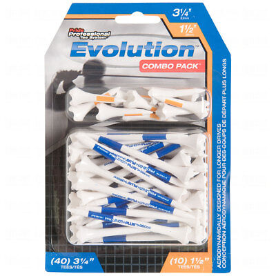 Pride Pts Evolution Combo Pack Golf Tees 50 Count