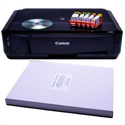 Canon Edible Printer - IP7250 , With XL Cartridges & 20 Deco Royal Paper Options
