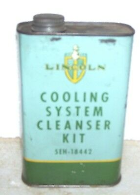 Rare Lincoln Mercury Cooling system cleaner kit-- 1940s 5EH-18442 can