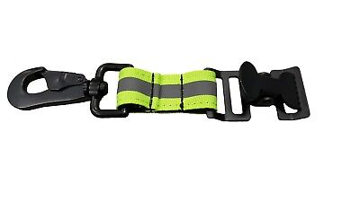 LINE2design Firefighter Glove Strap - Reflective Extrication Work Glove Holder