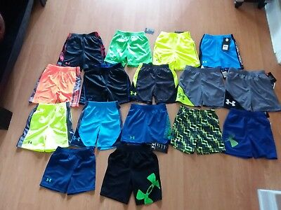 Under Armour Toddler Boys' Heat Gear Shorts, Many Styles and Colors MSRP $18-$22