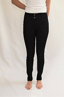 Next Women's Lift, Slim And Shape SKINNY BLACK Jeans All Sizes