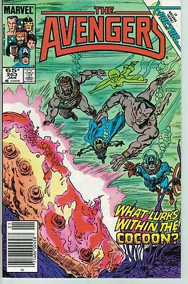 Avengers 263 VF The Return of Jean Grey Part 1
