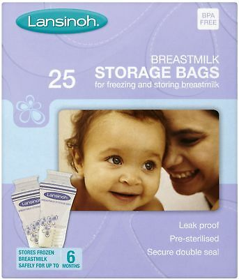 Lansinoh Breast Milk Storage Bags 25
