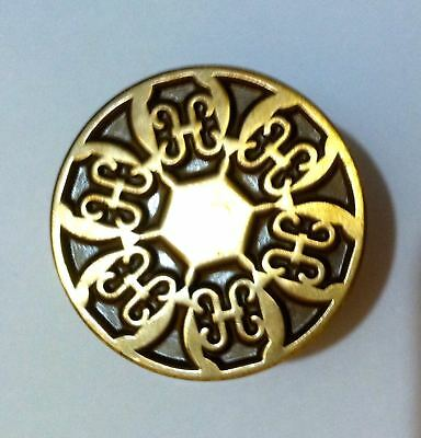 Lot 8 Antique Vintage Drawer Pulls Dresser Cabinet Knobs Brass Hardware