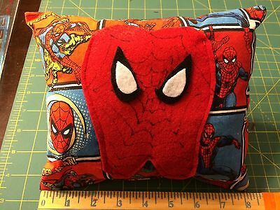 Spiderman tooth fairy pillow Marvel