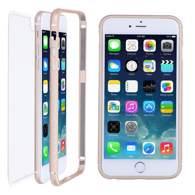Ultrathin Phone Back Cover Case Metal Skin Protector for Apple iPhone 6P 6S Plus