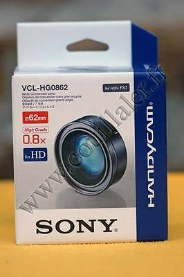 @ SONY VCL-HG0862 - Objectif de conversion - Grand angle  HDR-FX7 - 62mm @