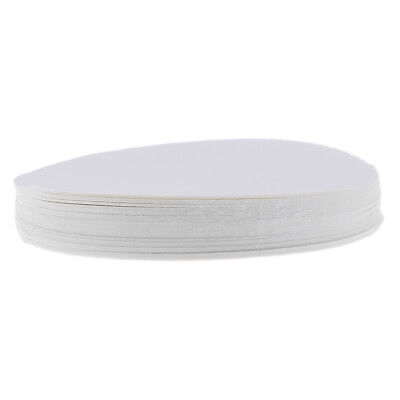100 Sheets Qualitative Filter Paper Laboratory Filter Paper Chemistry Use