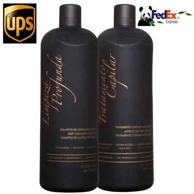 Inoar Moroccan Ghair Keratin Brazilian Kit Treatment & Shampoo or Treatment Only