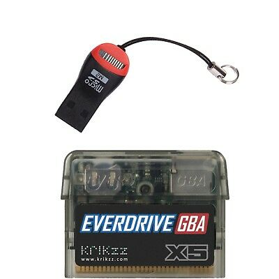 Everdrive GBA X5 for Game Boy Advance (Official Krikzz) Lastest Revision