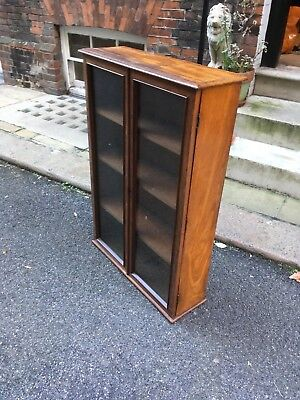Victorian Mahogany Glass Fronted Bookcase