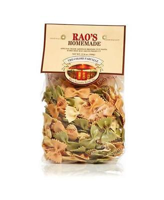 Rao's Homemade - Three-Color Farfalle Pasta - 17.6 Ounces, Pack of 1
