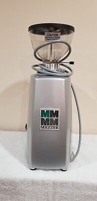 Mazzer Luigi Slr Timer Commercial Coffee Grinder Silver-0815040