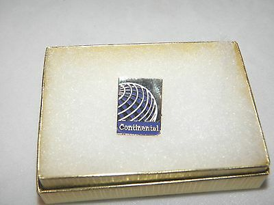 Continental Airline Lapel Tack Pin Last Logo Airplane Pilot Christmas Gift