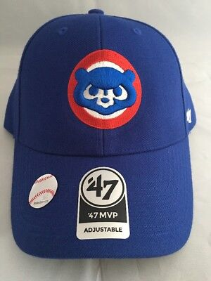 7816c5938afd4 ... free shipping chicago cubs 47 brand mlb mvp adjustable strapback hat  dad cap cooperstown 92064 ebff9