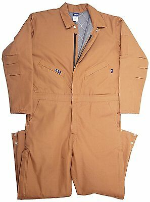LAPCO12-Ounce Duck Flame Resistant Insulated Coverall # SMALL REGULAR