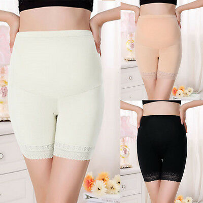 e208dc4c136 Pregnant Ladies Panties Belly Support Soft Shorts Maternity Underwear  Underpants