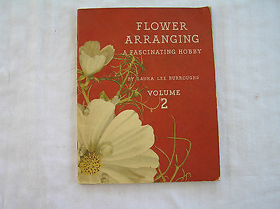 1941 Flower Arranging Booklet by COCA COLA