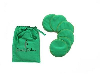 Pretty Pusher Washable Nursing Pads with bag - Clover