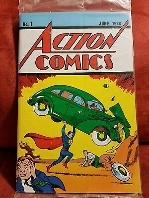 Action Comics # 1 Reprint DC Comic First Superman Loot Crate Sealed with COA