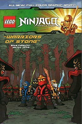 Lego Ninjago Vol. 6 - Warriors of Stone by Jolyon Yates Book The Cheap Fast Free