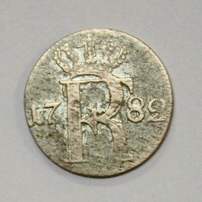 Germany Prussia 1782 1/24 Thaler A Silver Coin