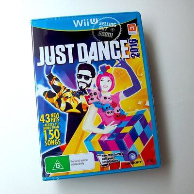 Just Dance 2016 Wii U Game ✓NEW ✓OZI MultiPlayer Dancing We Kids Musical Music