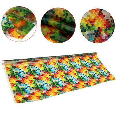 50*100cm Color Hexagon Printing Water Transfer Film Dipping Hydrographics Hydro
