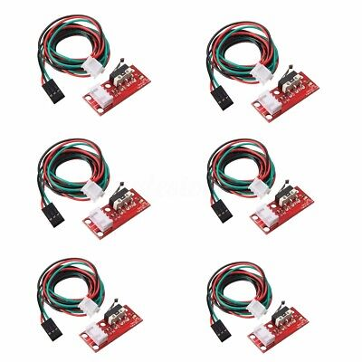 6X Mechanical End Stop Endstop Limit Switch + Cable for CNC 3D Printer RAMPS 1.4