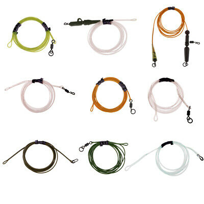 Carp Link Fishing Leader 1m Hybrid Lead Free Safety Leader Carp Fishing Rigs