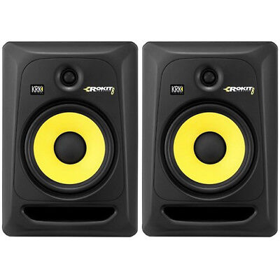 KRK Rokit RP8 G3 Studio Monitors (Pair)