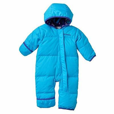 8f276a620 COLUMBIA BABY GIRLS  3-6M Snuggly Bunny™ Down Bunting Snowsuit NWT ...