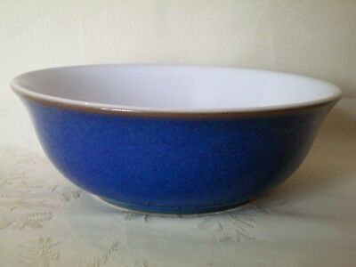 "Denby Imperial Blue Soup Cereal Bowl 6.5"" dia Excellent Cond Several Avail (B)"