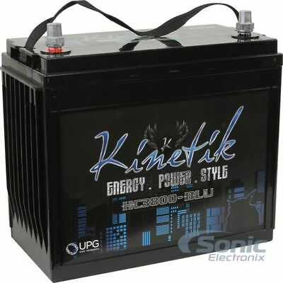 KINETIK 3800 HC3800 High Current AGM Car Audio Power Cell/Battery | HC3800-BLU