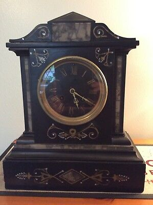 Antique French Clock Japy Freres Medaillle De Honnour
