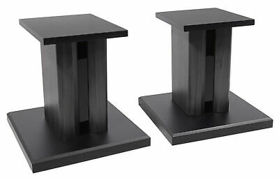 "(2) Technical Pro 8"" Studio Monitor Bookshelf Computer Multimedia Speaker Stands"