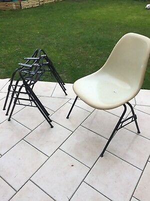 1 pied base eames herman miller vitra dss wide vintage for Pied chaise eames
