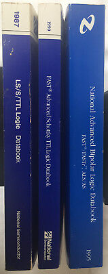 National Semiconductor TTL,LS,S, Advanced Schottky & Advanced BiPolar Data Books
