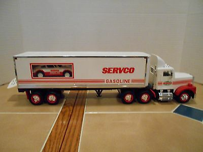 Servco 1993 tractor/trailer with race car,new old stock,MINT !!