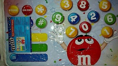 M&M's Red Poster Phone RARE