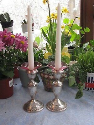 Antique Vintage Glass Candle Holders Bobeche Drip Wax Catcher Venetian cranberry