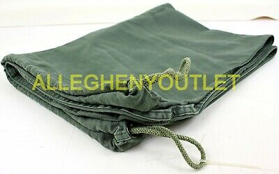 US Army Barracks Bag, 100% Cotton Large Laundry Bag, Military Issue VGC