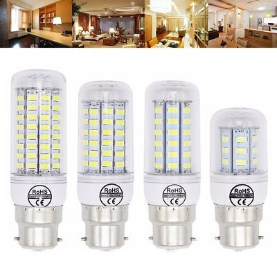 B22 5W 6W 7W 8W 10W 12W Ultra Bright SMD5730 LED Corn Bulb Lamp