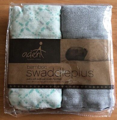 NEW Aden + Anais Bamboo Swaddle Plus Muslin Blankets Baby Infant