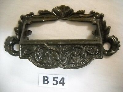 Antique Eastlake Cast Iron Apothecary Bin Drawer Pull 1880S