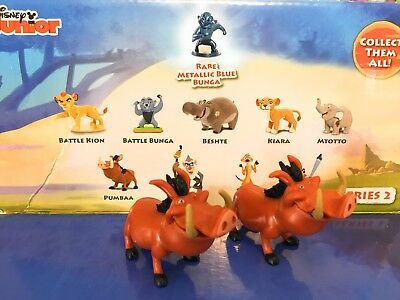 LION GUARD Series 2 Blind Bag PUMBAA Mini Figure TWO INCLUDED Disney Junior