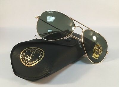9e7585cef1 New RAY BAN Sunglasses 3025 L0205 Aviator Gold Ray-Ban 58mm Metal RayBan