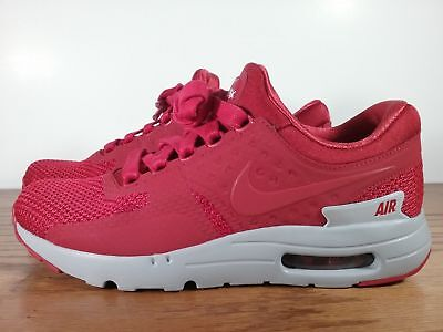 buy online ba472 39846 New Nike Air Max Zero 0 Premium Shoes Gym Red Wolf Grey 881982-600