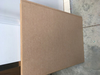 pack of 16 mdf sheets 880mmx620mm 6mm thick LotTCB04